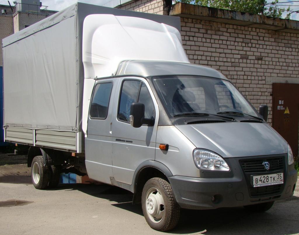 Автотранспорт для грузовых перевозок Газель